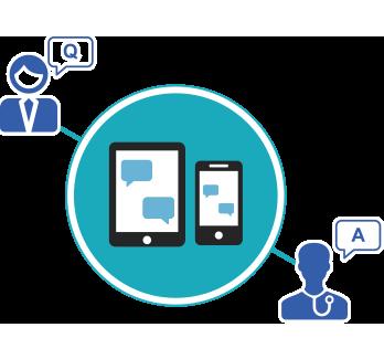 スマートデバイスを組み合わせた遠隔医療やコミュニティの活用