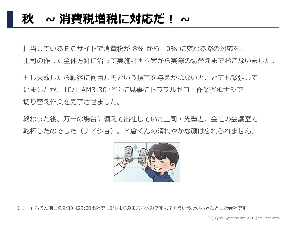 Y倉くんの1年 p6